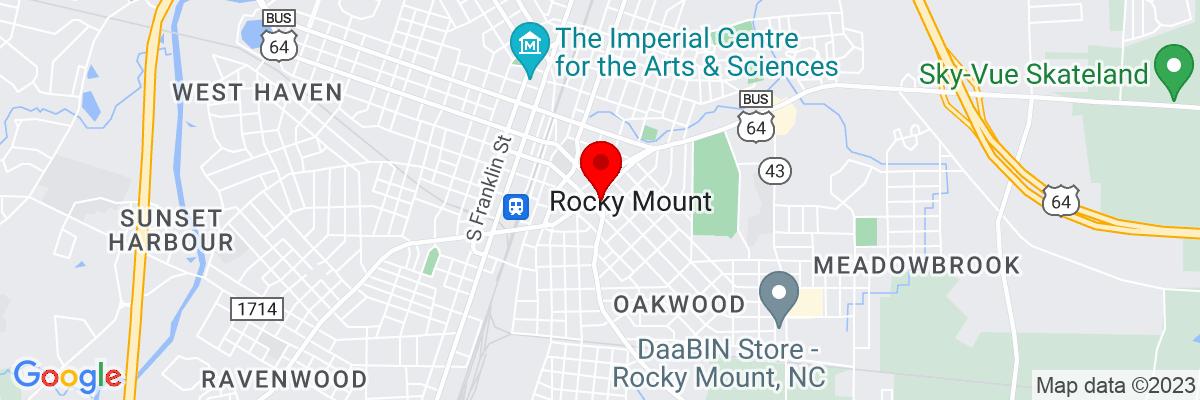 Google Map of 35.938210277778,-77.790533888889