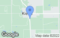 Map of Kiefer, OK