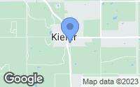 Map of Kiefer, OK