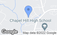 Map of Chapel Hill, NC