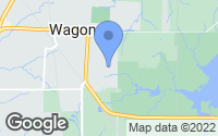 Map of Wagoner, OK