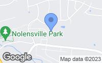 Map of Nolensville, TN