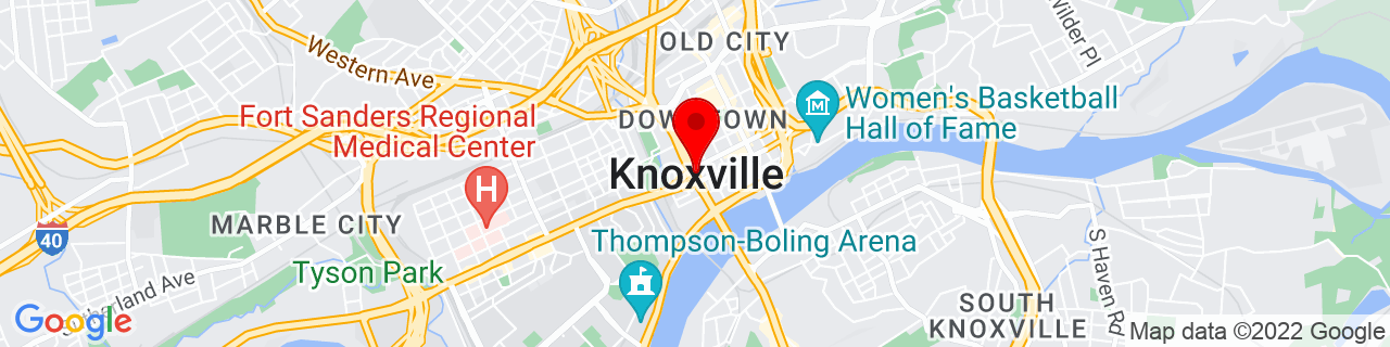 Google Map of 35.9606384, -83.9207392