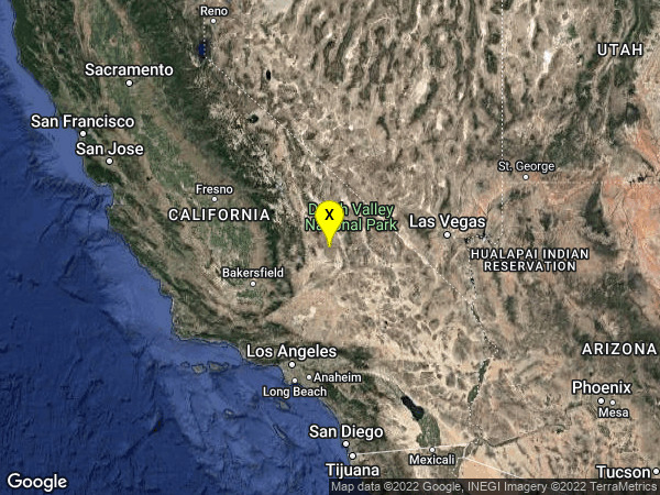 earthquake 23km NNW of Searles Valley, CA