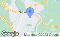 Map of Newport, TN