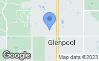 Map of Glenpool, OK