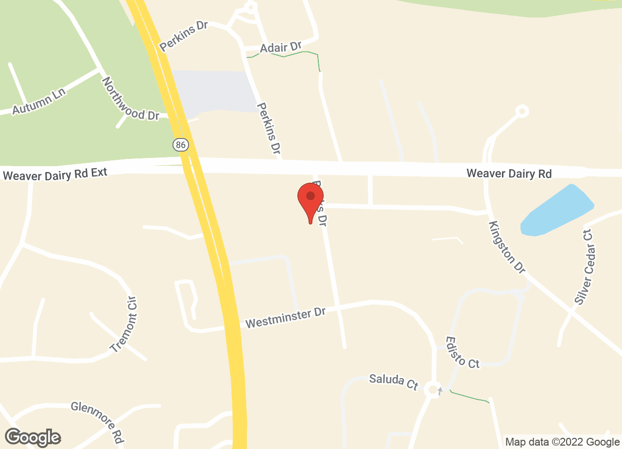 Google Map of VCA Timberlyne Animal Hospital