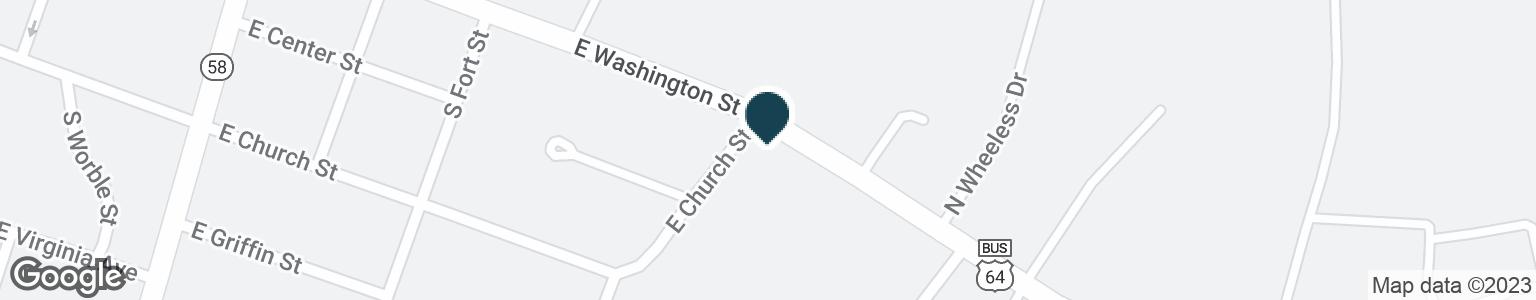 Google Map of703 E WASHINGTON ST