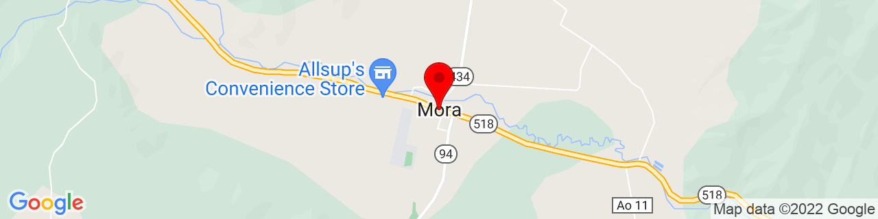 Google Map of 35.9742016, -105.3300127