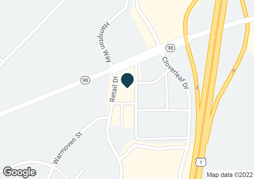Google Map of941 DURHAM RD