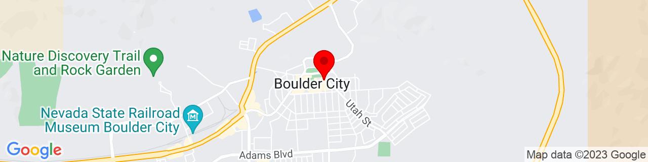 Google Map of 35.978611111111114, -114.8325