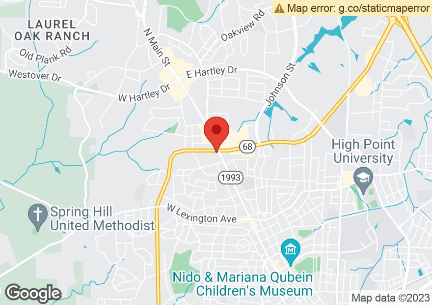 Google Map of 2019 N MAIN ST