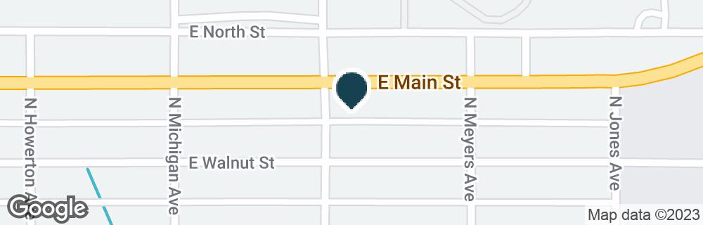 Google Map of1405 E MAIN ST