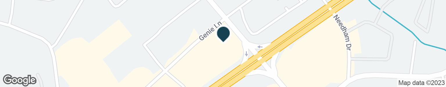 Google Map of400 SAM RIDLEY PKWY W