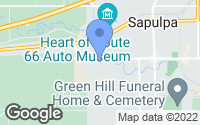 Map of Sapulpa, OK
