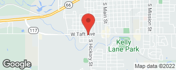 Map of 502 W Taft Ave in Sapulpa