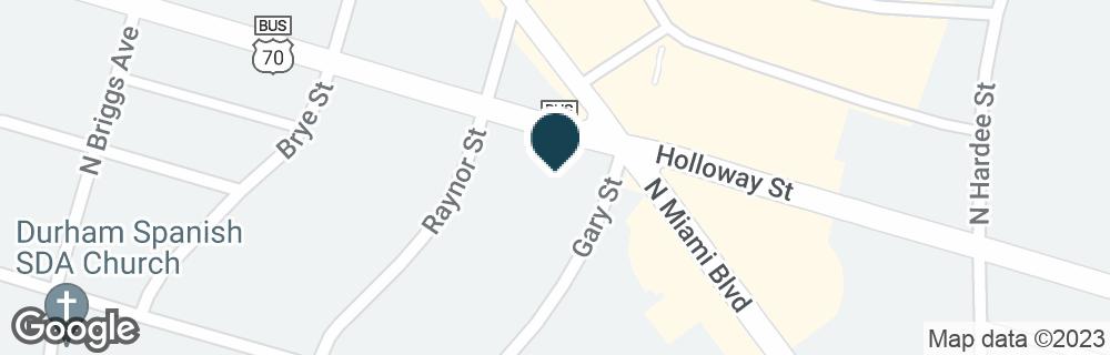 Google Map of1812 HOLLOWAY ST