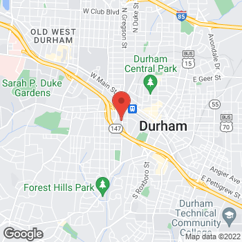 Map of State Employees' Credit Union at 504 S Duke St, Durham, NC 27701