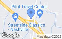 Map of La Vergne, TN