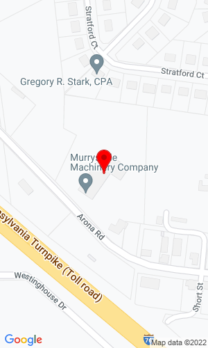 Google Map of Murrysville Machinery Company 350 Arona Road, New Stanton , PA, 15672