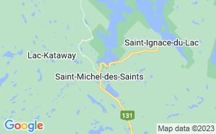 Map of Camping Municipal Du Lac Taureau