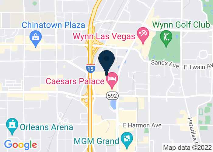Map of 3500 South Las Vegas Boulevard, Las Vegas, NV, United States