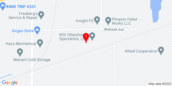Google Map of 3500 Wolosek Ave., Wisconsin Rapids, WI 54494