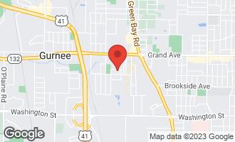 Map of 3501 Ellis Avenue GURNEE, IL 60031