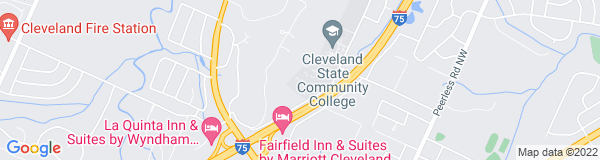 Google Map of 3505 Adkisson Dr, Cleveland, TN 37312, USA