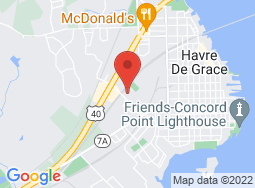 Location of Havre de Grace Drama Guild on a map