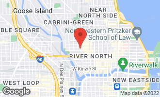 Map of 351 West Huron Street PH CHICAGO, IL 60654