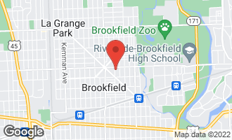 Map of 3513 Park Avenue #2 BROOKFIELD, IL 60513