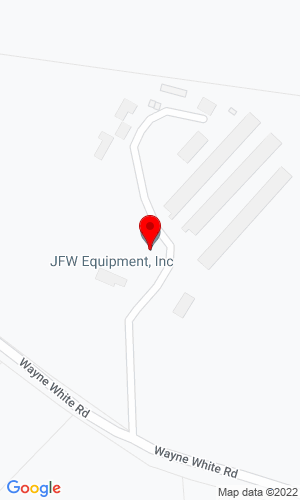 Google Map of JFW Equipment 3517 Wayne White Road, Climax, NC, 27233