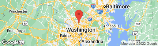 Map of 3518 HARGO STREET SILVER SPRING, MD 20906