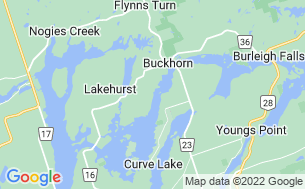 Map of Buckhorn Narrows Resort Ltd