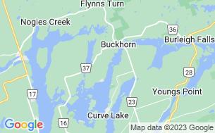 Map of Buckhorn Narrows Resort Ltd