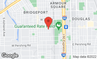 Map of 3521 South Parnell Avenue A CHICAGO, IL 60609
