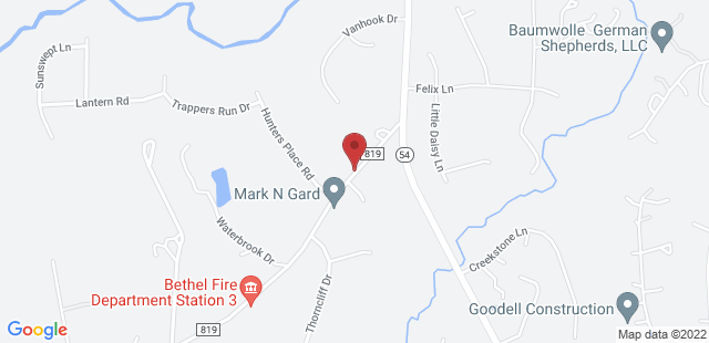 Google Map of 3522 Dr. Nichols Rd York, SC 29745