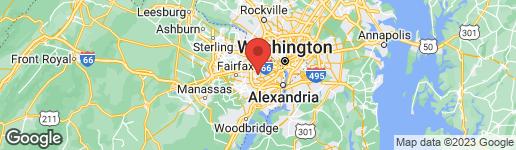 Map of 3523 ROSE LANE ANNANDALE, VA 22003