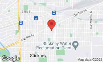 Map of 3525 Gunderson Avenue BERWYN, IL 60402