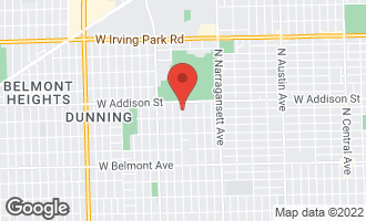 Map of 3525 North Natoma Avenue CHICAGO, IL 60634