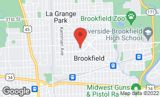 Map of 3525 Raymond Avenue BROOKFIELD, IL 60513