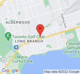 Google Map of 3526+Lakeshore+Boulevard+West%2CToronto%2COntario+M8W+1N6
