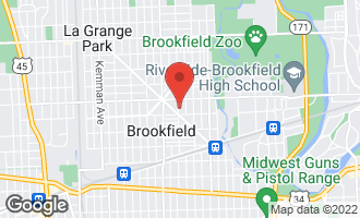 Map of 3529 Park Avenue BROOKFIELD, IL 60513