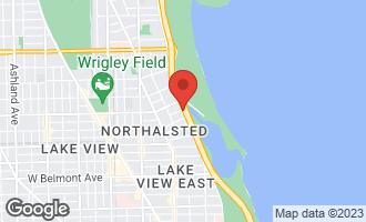 Map of 3530 North Lake Shore Drive 11B CHICAGO, IL 60657
