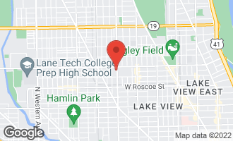 Map of 3536 North Ashland Avenue 2N CHICAGO, IL 60657