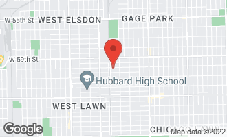 Map of 3539 West 60th Street CHICAGO, IL 60629