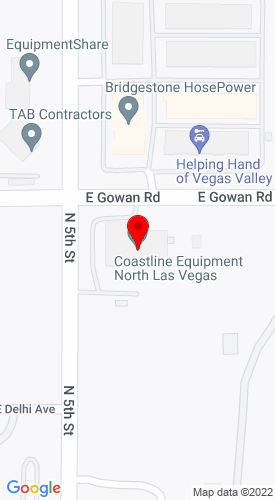 Google Map of Blaine Equipment Co., Inc 3540 N. 5th Street, Las Vegas, NV, 89032