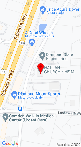 Google Map of Tri-Supply & Equipment 3540 Peachtree Run, Dover, DE, 19901