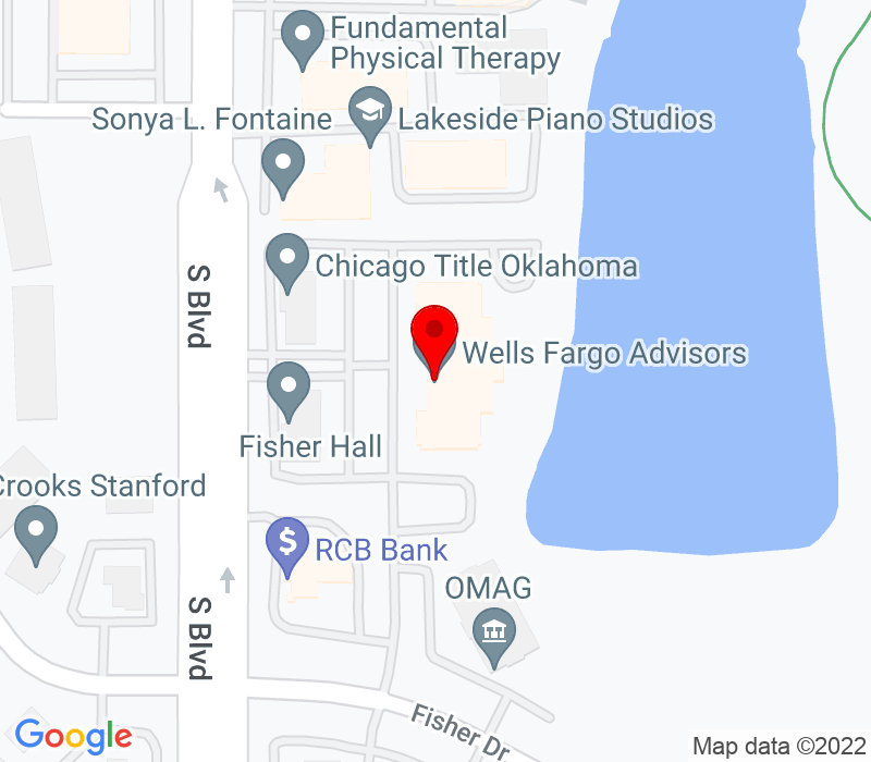 Click to view Google maps office address 3540 S Boulevard, Suite 110, Edmond, OK 73013
